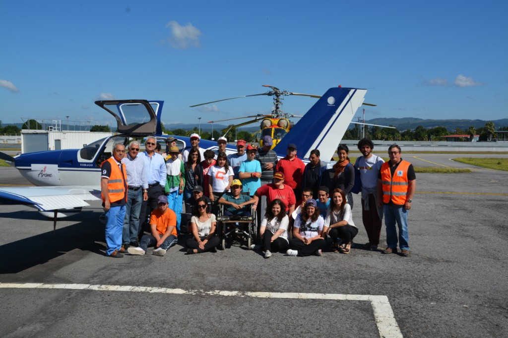 CERCI visita Aero Club de Braga